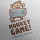 Monkey Game Logo Design