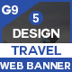 Travel Banners And Ads