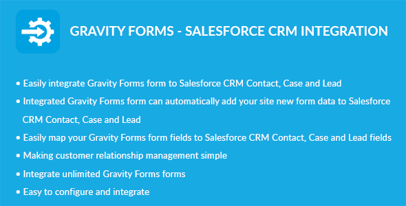 Gravity Forms – Salesforce CRM Integration (Forms) images
