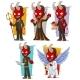 Cartoon Devils and Evil Angel Character Vector Set