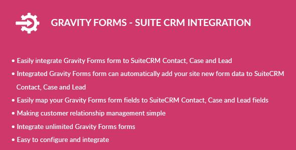 Gravity Types – Suite CRM Integration (Types)
