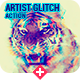 Artistic Glitch Photoshop Action
