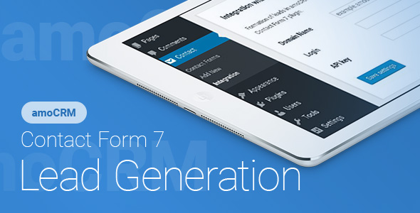 Contact Form 7 – amoCRM – Lead Generation (Forms) images