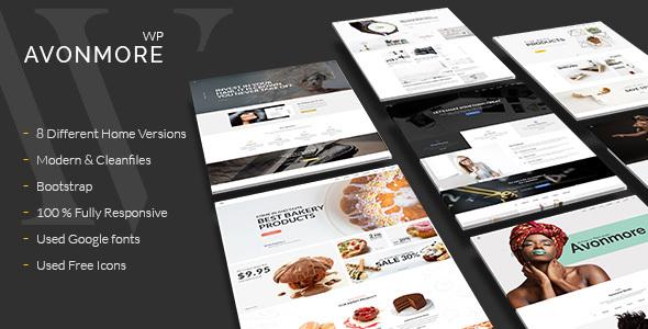 Avonmore - Premium Creative Multipurpose WordPress Theme