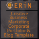 Erin - One and Multipage Creative<hr/> Business</p><hr/> Corporate Agency and Personal Portfolio HTML Template&#8221; height=&#8221;80&#8243; width=&#8221;80&#8243;></a></div><div class=