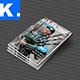 Indesign Magazine Template 1