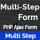Multi-Step-Form - PHP Multi Step Multipurpose Ajax Form