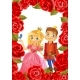 Happy Birthday, Princess and Prince, Greeting Card