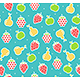Fruit Background Pattern. Vector