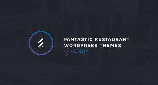 FORQY Restaurant WordPress Themes