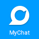 Mychat - Mobile App Interface Design | UI Kit