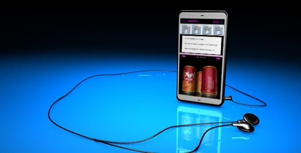 3DOcean Smart Phone 72762