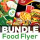 Food Flyer Template Bundle
