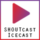 SHOUTcast and Icecast Radio Web Player