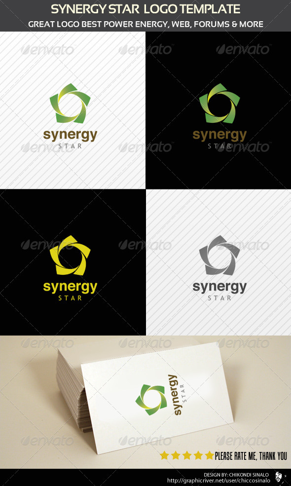 Synergy Logo Template - Abstract Logo Templates