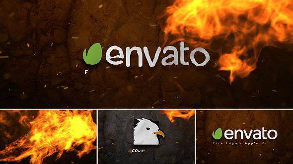 Fire Logo - Apple Motion