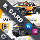 Car Sales Business Card Templates