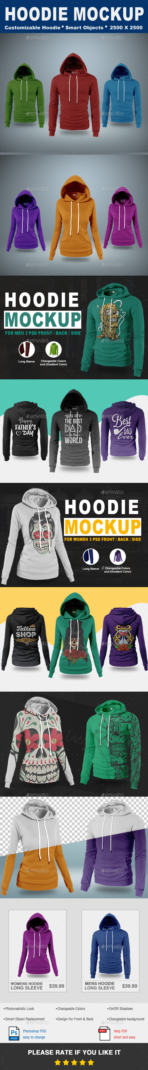Hoodie Mock-Up Vol.1