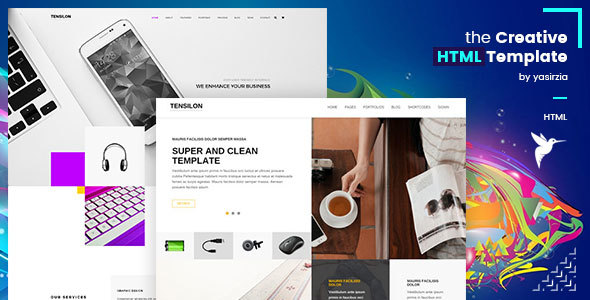 Tensilon | Multipurpose Html Template