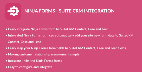 Ninja Types – Suite CRM Integration (Types)