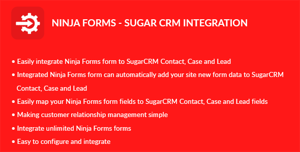 Ninja Types – Sugar CRM Integration (Types)