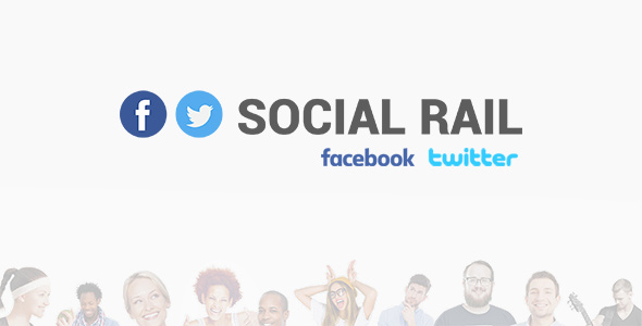 Social Rail – Facebook And Twitter Stream (Social Networking) images