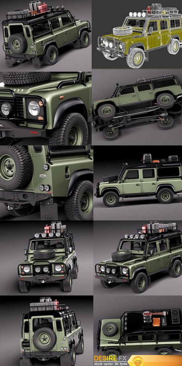 land rover - 3DOcean Item for Sale