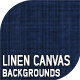 10 Linen Canvas Backgrounds
