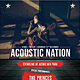 Acoustic Nation Flyer / Poster