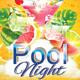 Pool Night Flyer