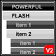 Powerful Flash Accordion Menu Unlimited Levels - ActiveDen Item for Sale