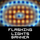 Flashing Lights Banner with Blur Effect - ActiveDen Item for Sale
