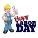 Happy Labor Day Worker Design