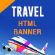 Travel-Ticket Booking-HTML Animated Banner 07