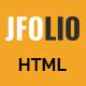 JFOLIO - One Page Portfolio Template