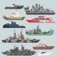 Passenger Ships and Battleships