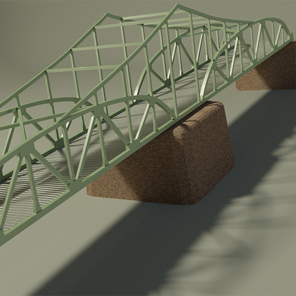 3DOcean Steel bridge 20187618