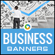 Business HTML5 Banners - 7 Sizes - BEE-CC-118