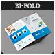 Corporate Business Pro Bi-Fold Brochure V03