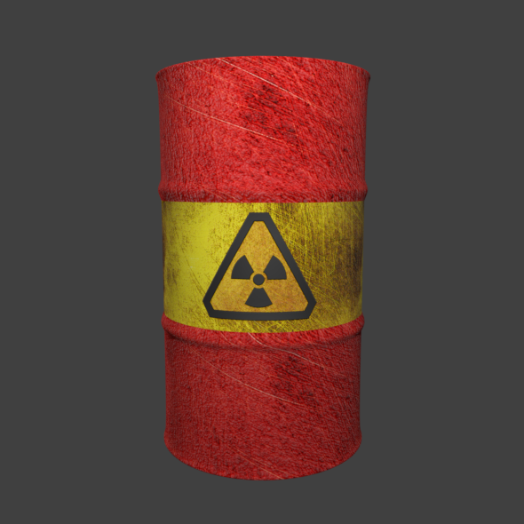 3DOcean Toxic Barrel 20191079
