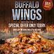 Chicken Wings Flyer