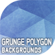 10 Grunge Polygon Backgrounds vol.02