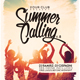 Summer Calling Vol. 4 Flyer/Poster