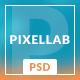 Pixellab - Creative PSD Template
