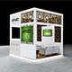 Exhibition Booth Design 3Mx3Mx3M
