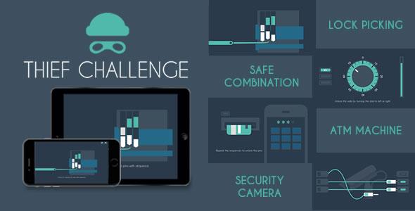 Download Thief Challenge - HTML5 Game