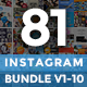 Instagram Promotion Template Bundle, Promogram Vol.01 - 10