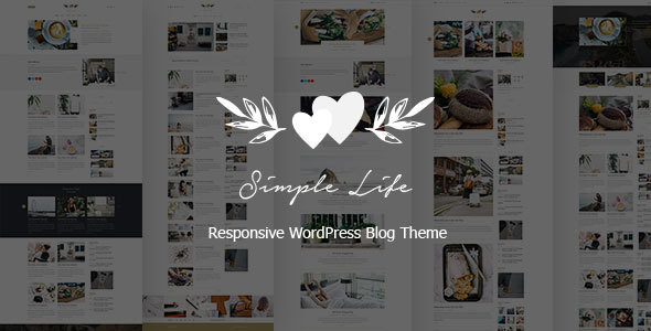 Simple Life - Responsive WordPress Blog Theme