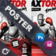 Boxing School Poster Templates