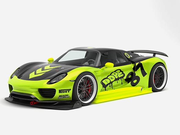 3DOcean Porsche 918 Spyder Chimera One concept 20193470